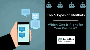 Top 6 Types of Chatbots - Which One Is Right for Your Business