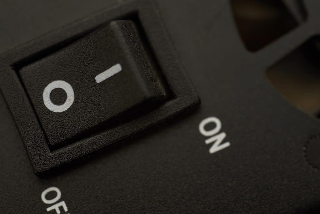 Touching buttons is almost reflexive